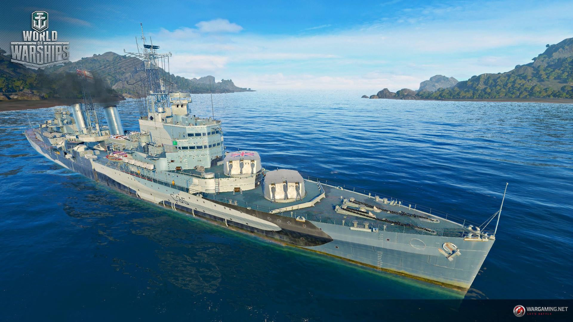 World of Warships - Belfast Pictures