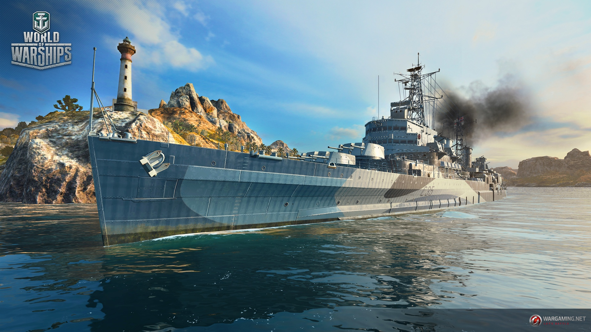 World of Warships - HMS Belfast - Available on EU Server