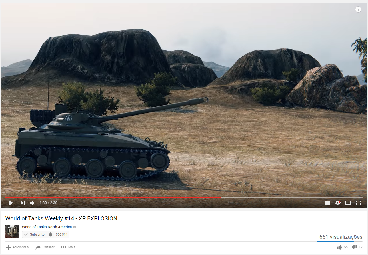 T92 Light Tank Spotted on WG NA Video