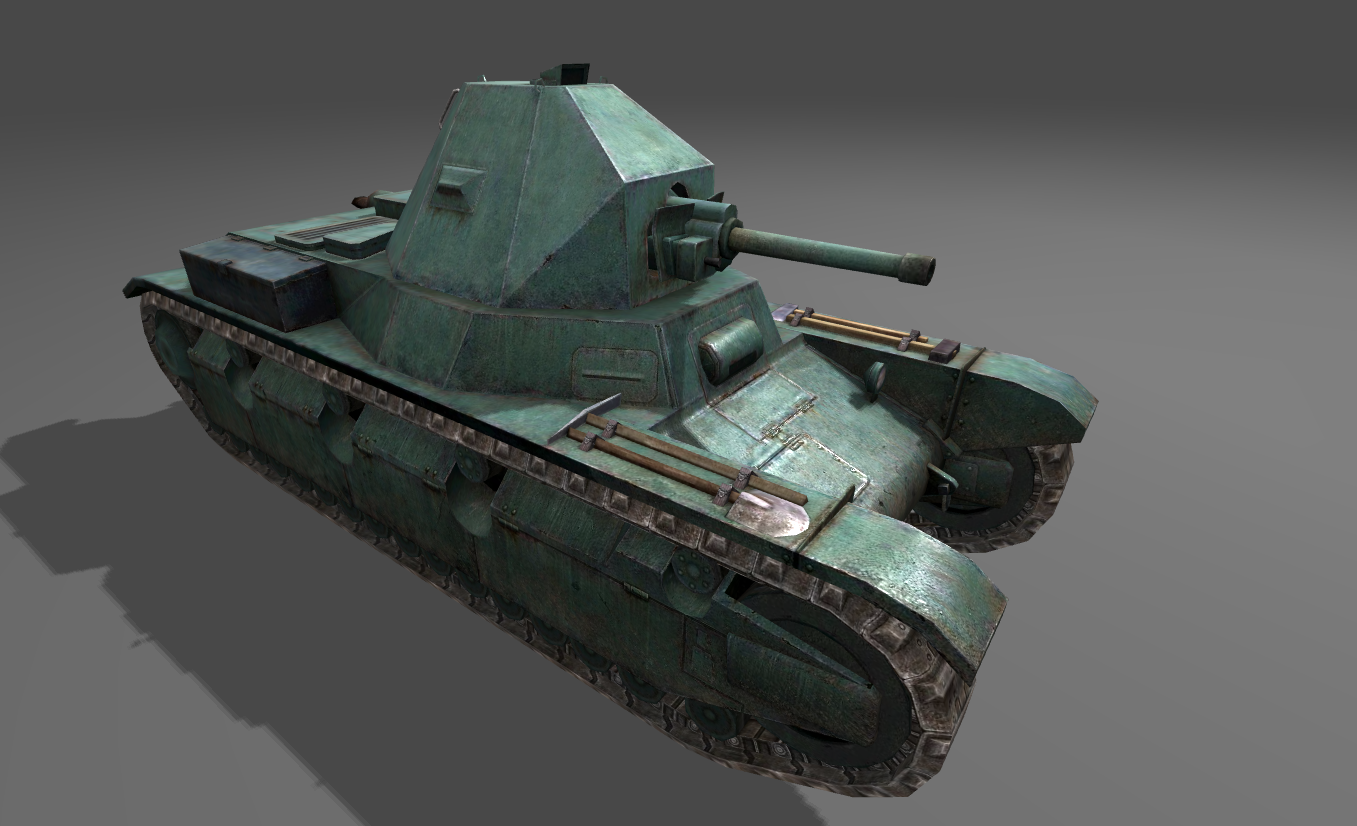New Vehicles 2017 >> World of Tanks Blitz 4.2.0: French Light Tank AMX 38