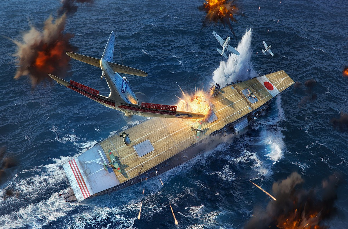 world of warships  cv rework announced