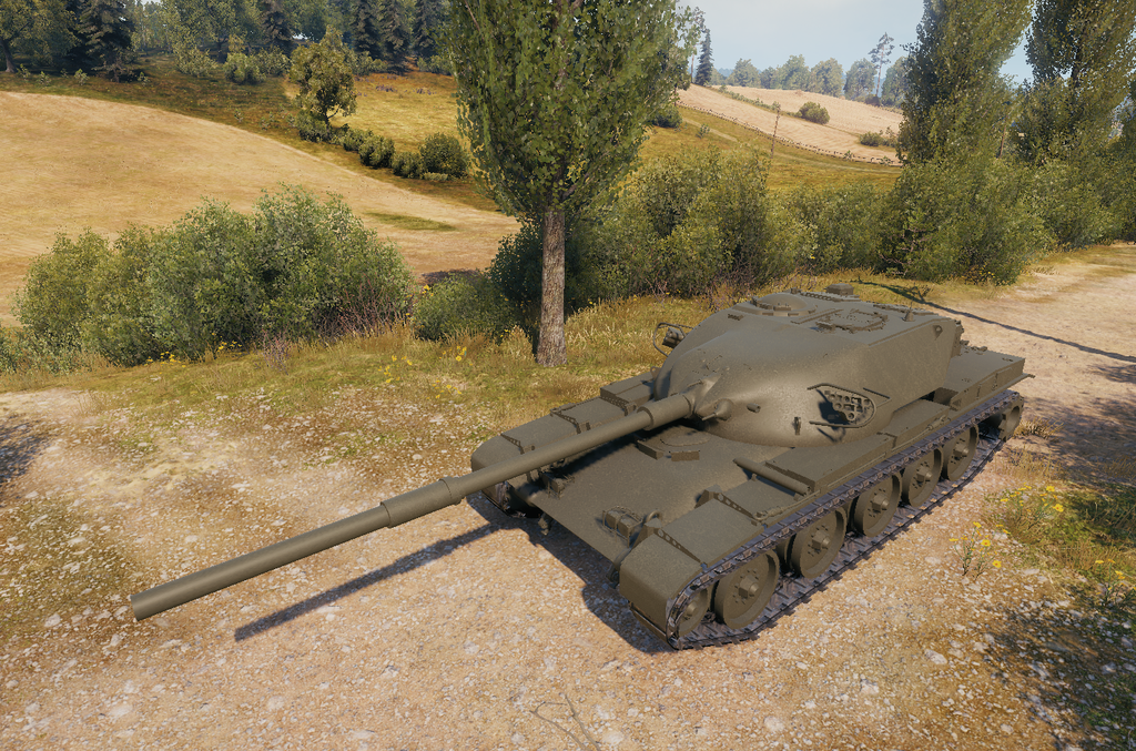 World of Tanks Supertest: T95/FV4201 Chieftain