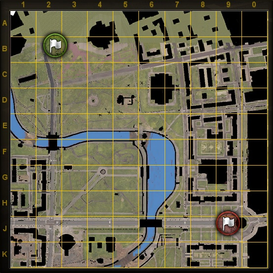 World of Tanks Minsk Map v2