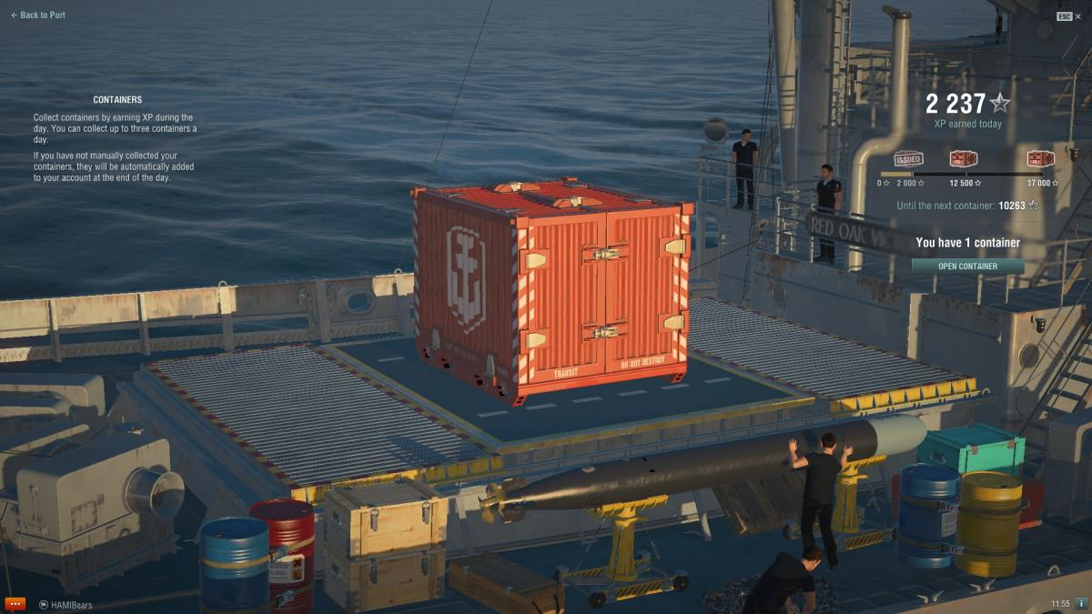 Warships Crates