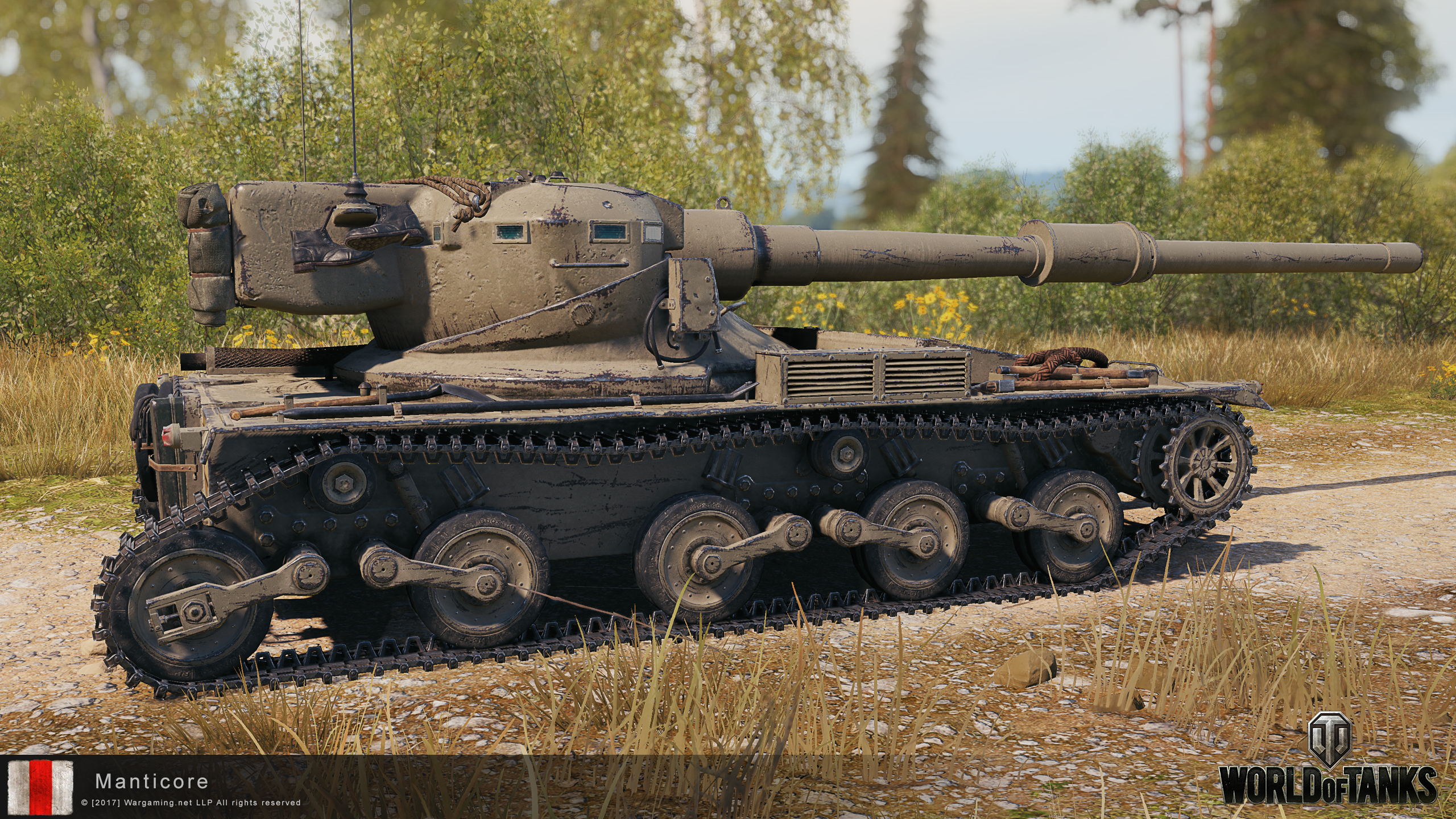 World of Tanks Supertest: British Light Tank Branch - Tier X